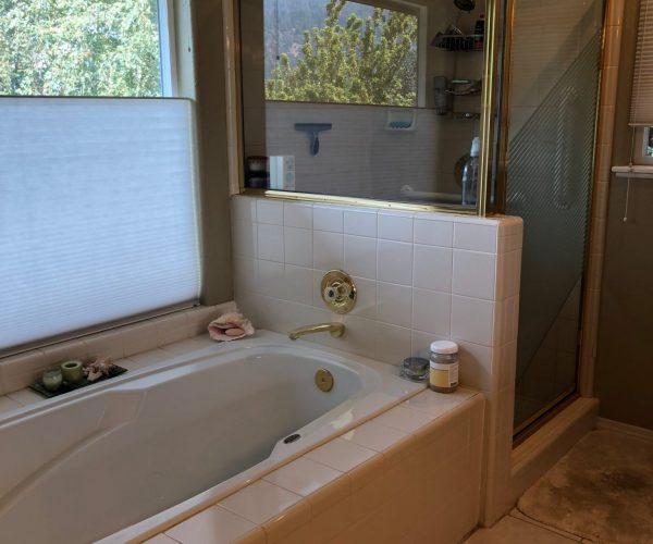 old tub shower